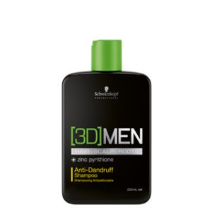 [3D]MEN Anti-Dandruff Shampoo barbershop