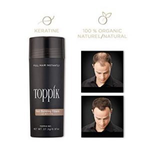 Toppik Hair Building Fibers gents salon
