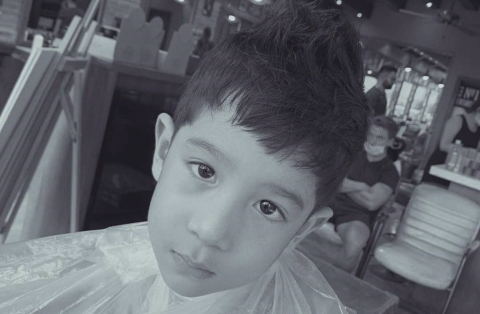 Kids haircut dubai marina